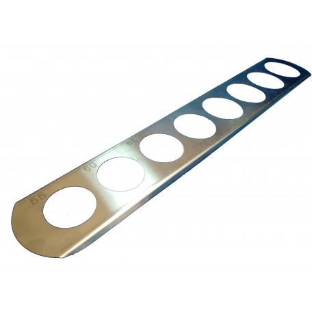 Калибратор прямой (нержавеющая сталь) 55-90 мм
