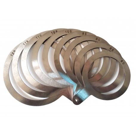 Калибратор веерный (нержавеющая сталь) 80-120 мм