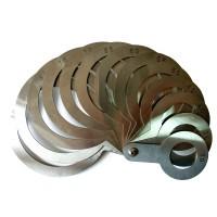 Универсальный веерный калибратор (нержавеющая сталь) 30-90 мм